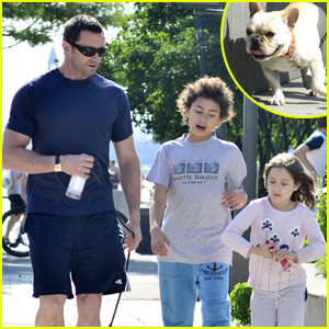 Hugh Jackman: Father's Day Family Time!