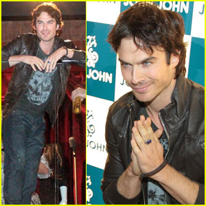 Ian Somerhalder: Fandemonium at John John Event!
