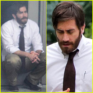 Jake Gyllenhaal: 'An Enemy' Set Break!