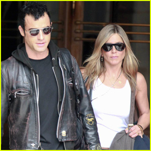Jennifer Aniston & Justin Theroux: Ritz Couple
