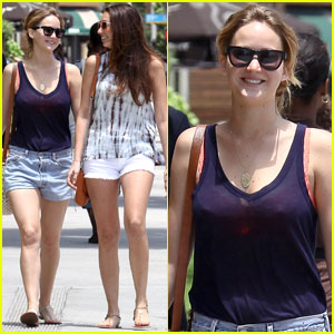 Jennifer Lawrence: Girls Day in Santa Monica!