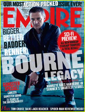 Jeremy Renner: 'Bourne' Franchise Is a 'Huge Responsibility'