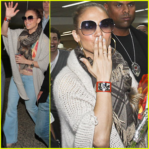 Jennifer Lopez: 'Ready to Party' at the Pop Music Festival!