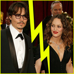 Johnny Depp Splits from Vanessa Paradis