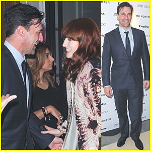 Sarah Clarke and jon hamm