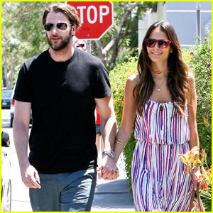 Jordana Brewster &#038; Andrew Form: Lemonade Lunch!