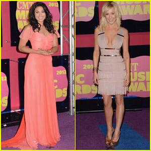 Kellie Pickler & Jordin Sparks - CMT Music Awards 2012