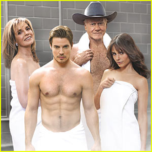 Josh Henderson: Shirtless 'Dallas' Promo Pics!