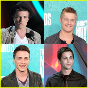 Josh Hutcherson & Alexander Ludwig: MTV Movie Awards 2012