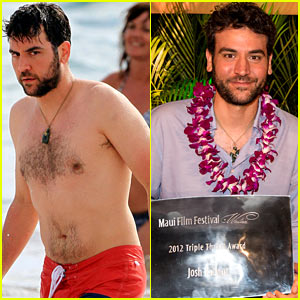 Josh Radnor: Shirtless Maui Man!