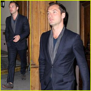 Jude Law: Vogue Party in Paris!