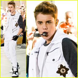 Justin Bieber: 'Today' Concert Takeover in Rockefeller Plaza!