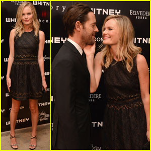 Kate Bosworth: Whitney Art Party with Michael Polish!