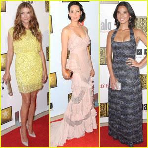 Kate Walsh & Lucy Liu: Critics' Choice TV Awards 2012