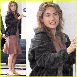 Kate Winslet: 'Labor Day' in Boston!