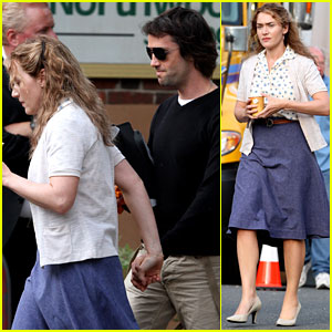 Kate Winslet: 'Labor Day' Set with Ned Rocknroll!