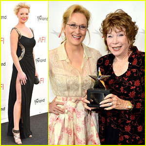 Katherine Heigl & Meryl Streep: AFI Achievement Ceremony!