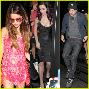 Katy Perry: Bootsy Bellows with Justin Bieber & Selena Gomez!