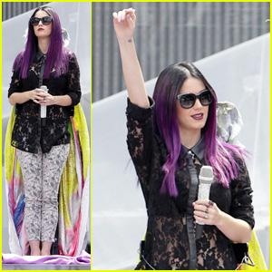 Katy Perry: MMVA Rehearsal!