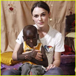 Keira Knightley: UNICEF Chad Trip for Soccer Aid 2012