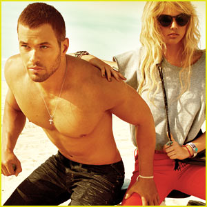 Kellan Lutz: Shirtless for 'Abott + Main' & 'Dylan George' - Exclusive!