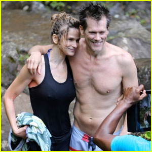Kevin Bacon: Shirtless in Hawaii with Kyra Sedgwick!