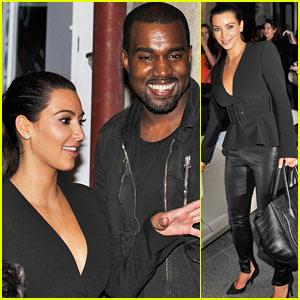 Kim Kardashian & Kanye West: Parisian Pair!