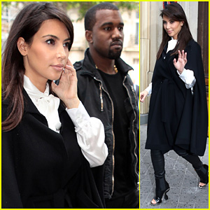 Kim Kardashian & Kanye West: La Villa Couple!