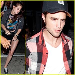 Robert Pattinson & Kristen Stewart: Largo Lovebirds!