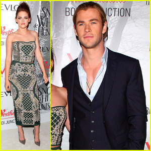 Kristen Stewart & Chris Hemsworth: 'Snow White' Sydney Premiere!
