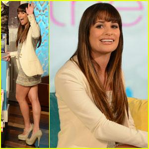 Lea Michele: 'Bethenny' Super Fan!