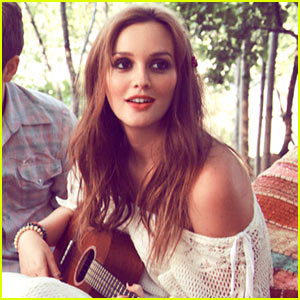 Leighton Meester: Check in the Dark Tour Photo Shoot!