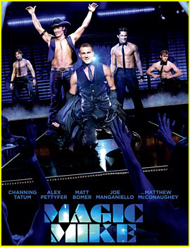 Channing Tatum & Alex Pettyfer: Shirtless 'Magic Mike' Poster!