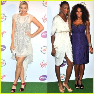Maria Sharapova, Serena & Venus Williams: Pre-Wimbledon Party!