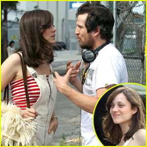 Marion Cotillard & Guillaume Canet: 'Blood Ties' Set