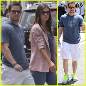 Mark Wahlberg: All Up in Rhea's Grill