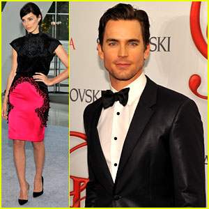 Matt Bomer & Jessica Pare - CFDA Fashion Awards 2012
