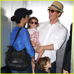 Matthew McConaughey: Flying with the Family