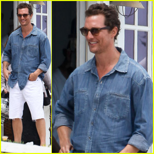 Matthew McConaughey: Malibu Photo Shoot!
