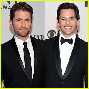 Matthew Morrison & James Marsden - Tony Awards 2012