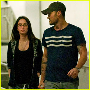 Megan Fox & Brian Austin Green: Movie Date Night!