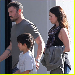 Megan Fox: Father's Day Mass with Brian Austin Green