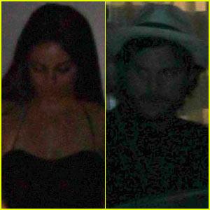 Mila Kunis & Ashton Kutcher: Giorgio Baldi Dinner!