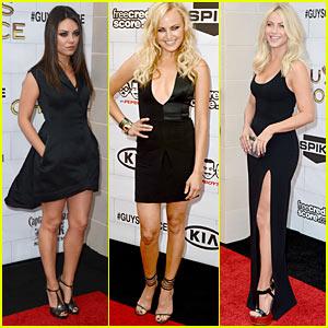 Mila Kunis & Julianne Hough: Guys Choice Awards 2012!