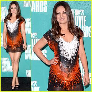 Mila Kunis - MTV Movie Awards with Mark Wahlberg!