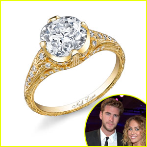 Miley Cyrus's Engagement Ring Revealed!