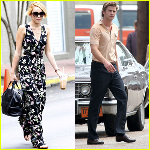 Miley Cyrus & Liam Hemsworth Hit New Orleans!
