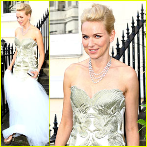 Naomi Watts: White Tie & Tiara Ball in London!