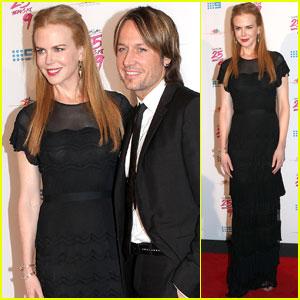 Nicole Kidman: Down Syndrome Fundraiser with Keith Urban!