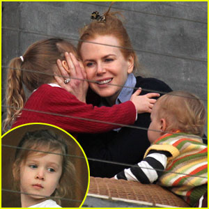 Nicole Kidman: Birthday Kisses from Sunday Rose!